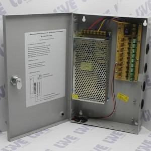 Блок питания 12В 10А без установки АКБ
